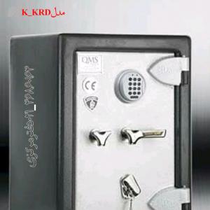 گاوصندوق گنجینه ضدسرقتی مدل600KRD تکطبقه متوسط رمزدیجیتالی