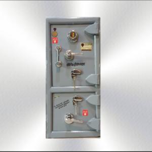 گاوصندوق گنج دار ضدسرقتی مدل 1020/2KRM-دوطبقه بزرگ رمز مکانیکی