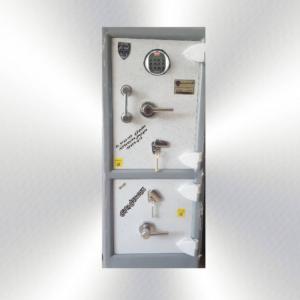 گاوصندوق گنج دار ضدسرقتی مدل 1200/2KRD دوطبقه بزرگ رمز دیجیتالی