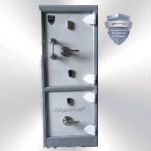 گاوصندوق گنج دار ضدسرقتی مدل 1200/2KK دوطبقه بزرگ کلیدی