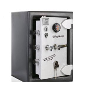 گاوصندوق گنجینه ضدسرقتی مدل600KRM تکطبقه متوسط رمزمکانیکی