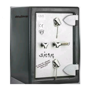 گاوصندوق گنجینه ضدسرقتی مدل600KK تکطبقه متوسط کلیدی